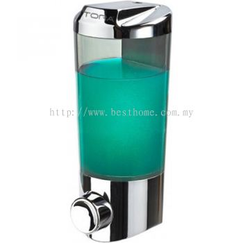 SINGLE WALL MOUNTED SOAP DISPENSER SD1921C / TR-BA-SPD-07248-CH