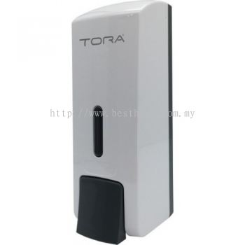SINGLE WALL MOUNTED SOAP DISPENSER SD3217-WHITE / TR-BA-SPD-01307-WW