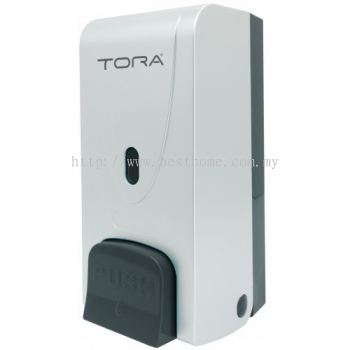 SINGLE WALL MOUNTED SOAP DISPENSER SD3216-WHITE / TR-BA-SPD-01306-WW