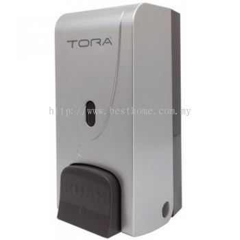 SINGLE WALL MOUNTED SOAP DISPENSER SD3216-SILVER / TR-BA-SPD-01305-SV