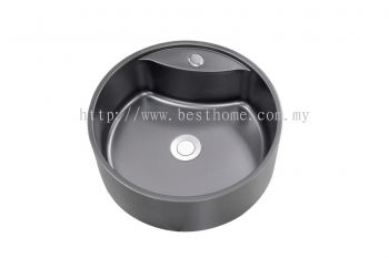 COUNTER TOP BASIN - NANO BLACK