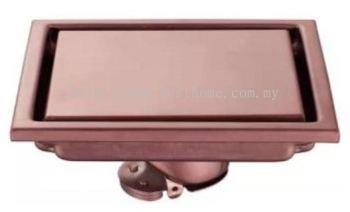 FLOOR DRAINER - ROSE GOLD
