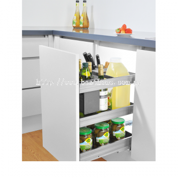 350MM 3 TIER MULTI FUNCTION PULL OUT BASKET LG350SS