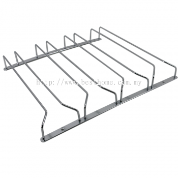 FOUR ROW GLASS RACK GHG04