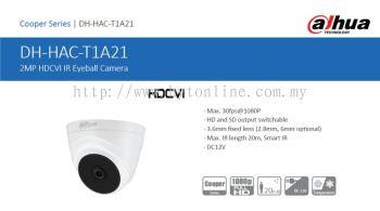 DaHua HAC-T1A21 Dome Camera 1080P 3.6mm