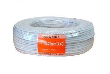 Alarm Cable Copper 4C x 7/0.2mm * 100m