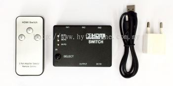 HDMI 3-In to 1-Out Switcher