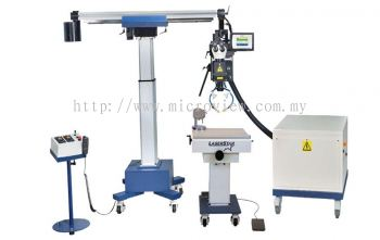 7700 Series Micro Welding Laser System with Universal Jig Workstation