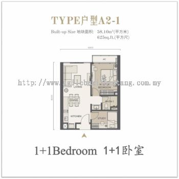 Agile Bukit Bintang Condominium Type A2-1