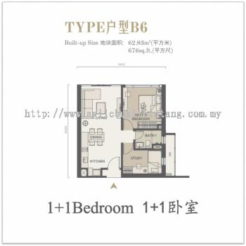 Agile Bukit Bintang Condominium Type B6