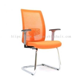 OKEY MESH VISITOR CHAIR WITH CHROME CANTILEVER BASE ASE2793