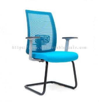 OKEY MESH VISITOR CHAIR WITH CANTILEVER BASE