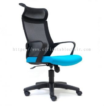 OWER MESH HIGH BACK CHAIR WITH PP BASE ASE2825