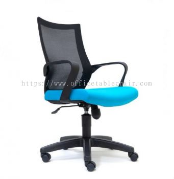 OWER MESH LOW BACK CHAIR WITH PP BASE ASE2826