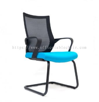 OWER MESH VISITOR CHAIR WITH EPOXY BASE ASE2826