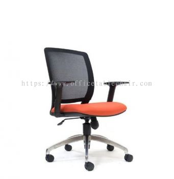 UMAX MESH LOW BACK CHAIR WITH DIE CAST BASE ASE2771