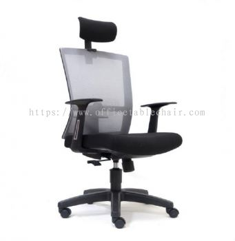 EXOTIC MESH HIGH BACK CHAIR WITH PP BASE ASE2765