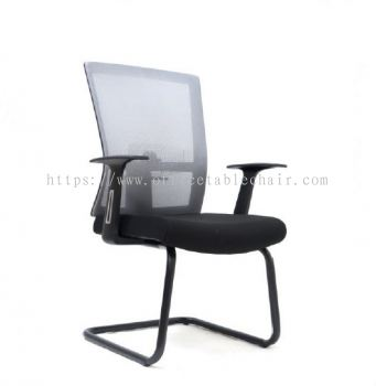 EXOTIC MESH VISITOR CHAIR WITH PP BASE ASE2767