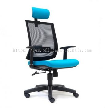 DERRY MESH HIGH BACK CHAIR WITH PP BASE ASE 2815