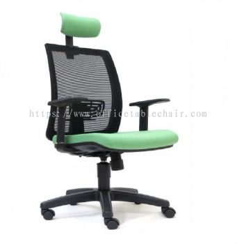 RIPON MESH HIGH BACK CHAIR WITH PP BASE ASE 2785