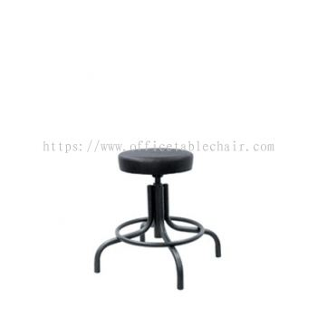 LOW PRODUCTION STOOL C/W EPOXY BLACK METAL BASE PS1-1
