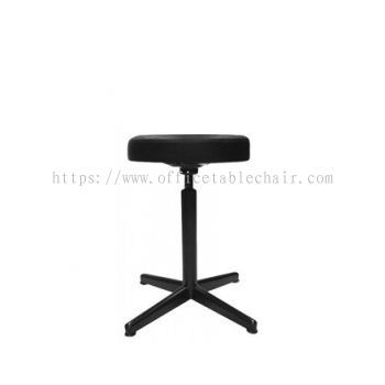 LOW PRODUCTION STOOL C/W 4 PRONG EPOXY BLACK METAL BASE PS3-1