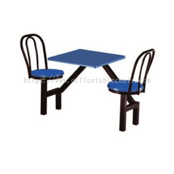 2 SEATER FIBREGLASS TABLE WITH CHAIR - SC18