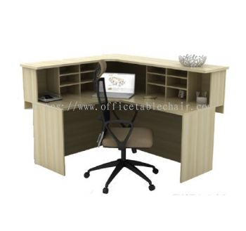 L-SHAPE RECEPTION COUNTER TABLE EXCT 1715 (L) (INNER)