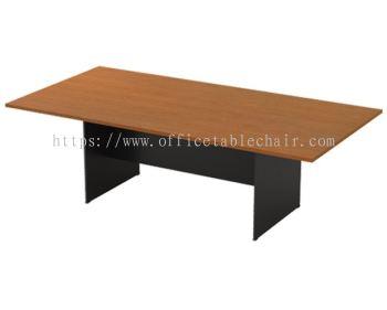 RECTANGULAR MEETING TABLE C/W WOODEN BASE GV 18