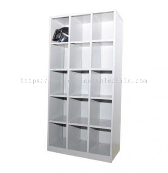 APH15-615 FULL HIGH STEEL 15 PIGEON HOLE