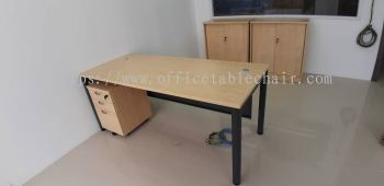 DELIVERY & INSTALLATION WRITING TABLE SMT 157 & DRAWER 2D1F OFFICE FURNITURE BUKIT GASING, PETALING JAYA