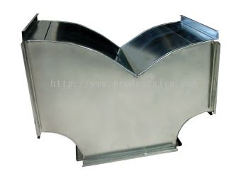 Square Duct - Wye (Butterfly)