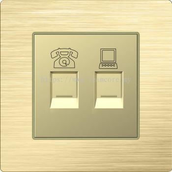 Network & Telephone Sockets