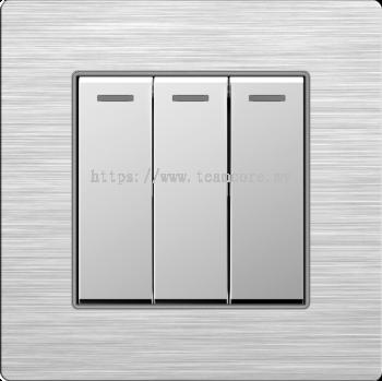 Three (3) Gang Lighting Switches