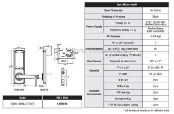 809L/C70MB Smart Lock