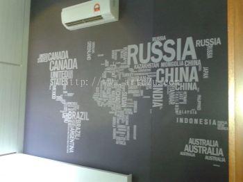Selangor | Kuala Lumpur | Design Artwork | Sticker | Inkjet Sticker | UV Print Sticker | 1200dpi | 1400dip | wall sticker