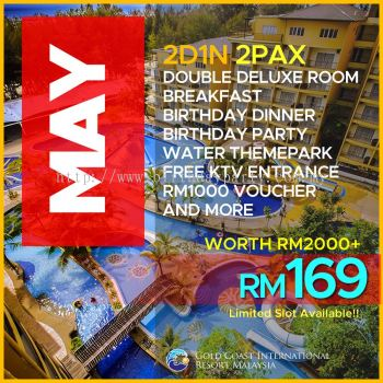 MAY 1 LABOUR DAY - RM99 2PAX