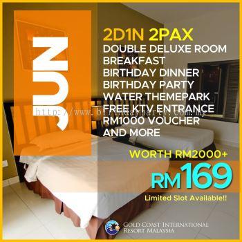 JUNE 18 - RM169 2PAX