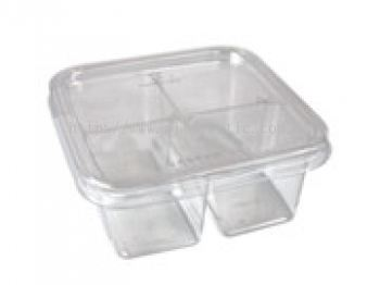 4 Compartment PP Container