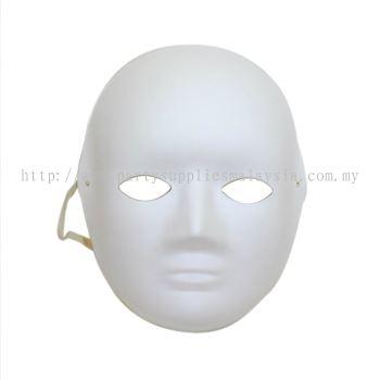 Full Mask/DIY Plain Mask - White