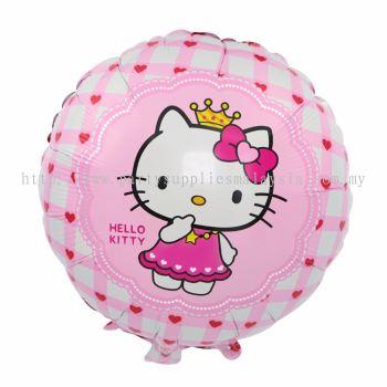 """Foil 18"""" KT Crown Pink"""
