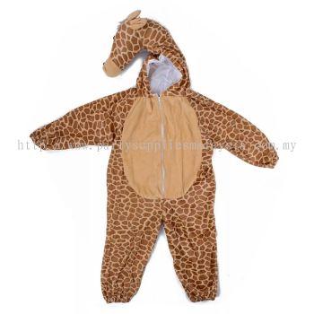 Kids giraffe jumpsuit / pyjamas