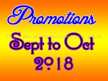 Promotions - Promotion ( Sept To Oct 2018)