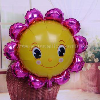 Foil Balloon Sunflower 71CM - 2118 0901 02