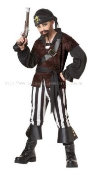 PIRATE KID COSTUME - B01613