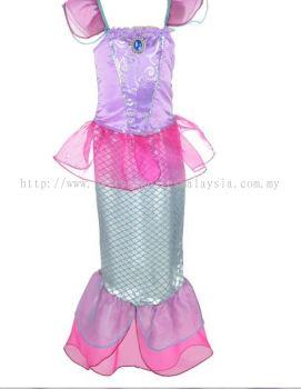 Mermaid kids costume