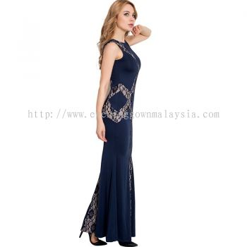 Dinner Gown (Lace Long Gown 045)