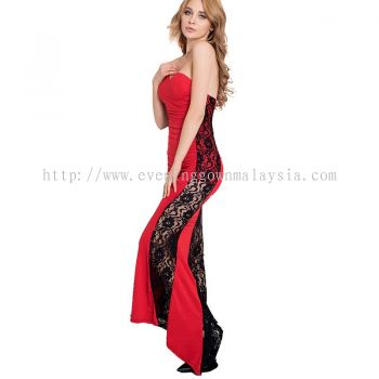 Dinner Gown (Lace Long Gown 043)