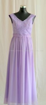 Dinner Gown (Evening Gown Purple 028)