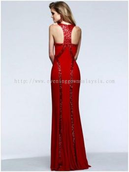 Dinner Gown (Long Dinner Gown Red 000)
